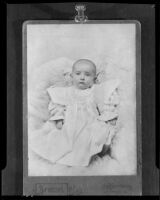 Baby Michael Griffith, son of Raymond Griffith and Bertha Mann, Los Angeles, 1931