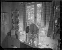 Dressing room in the William Conselman Residence, Eagle Rock, 1930-1939