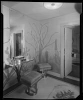 Entrance hall in the William Conselman Residence, Eagle Rock, 1930-1939