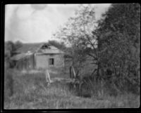 Dilapidated rural house, circa 1920