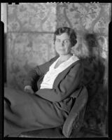 Erna Fergusson, New Mexico writer, Albuquerque, 1932