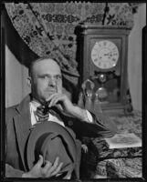 Roark Bradford, writer, Santa Fe, 1930-1948