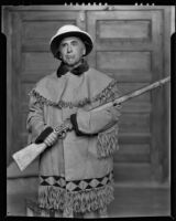 Bert Geer Phillips, artist, Taos, 1932