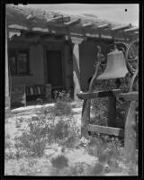Exterior view of the house of William Penhallow Henderson and Alice Corbin, Santa Fe, 1932