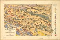 Mapa Geologiczna środkowej Części Gór świętokrzyskich opracował Jan Czarnocki 1919.