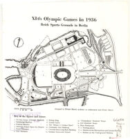 XIth Olympic Games in 1936: Reich Sports Grounds in Berlin