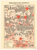 Bevölkerungskarte der Ober - und Niederlausitz aufGrund der Volkszählung 1910.