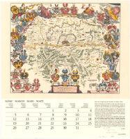 Karte der Umgebung von Frankfurt am Main (1640)