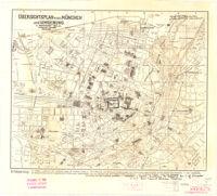 übersightplan von München und Umgebung