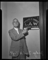Judge Fred H. Taft, Santa Monica, 1936