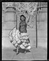Paquita Jiminez at the California Pacific International Exposition in Balboa Park, San Diego, 1935