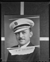 Portrait of Los Angeles Fire Chief J. H. Douglas (copy), Los Angeles, 1936