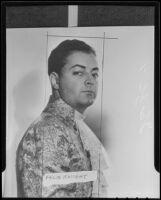 Opera singer Felix Knight lists his many accomplishments, Los Angeles, 1936