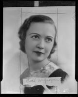 Ruth McGregan, founder and headmistress of Wilshire Academy of the Dance, Los Angeles, 1936