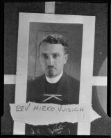 Portrait of Reverend Mirko Vuisich (copy), Los Angeles, 1936