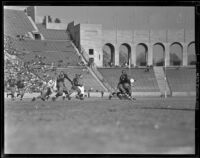 USC Trojans play against UCLA Bruins at the Memorial Coliseum, Los Angeles, 1938