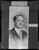J. A. P. Jensen named president of the Southeast Realty Board, Huntington Park, 1938