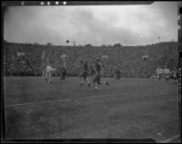 U.S.C. Trojans and Duke Blue Devils at the Rose Bowl, Pasadena, 1939
