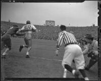 U.S.C. Trojans and Duke Blue Devils at the Rose Bowl, Pasadena, 1939