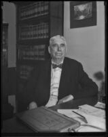 Robert J. Adcock turns 75, Los Angeles, 1932