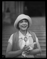 Olive Ann Alcorn around the time of her divorce, Los Angeles, circa 1925