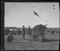 Army Day demonstration at Fort MacArthur, San Pedro, 1930s