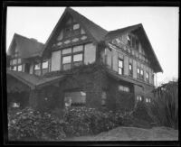 Home of murder victim Jacob Denton, Los Angeles, 1920-1921