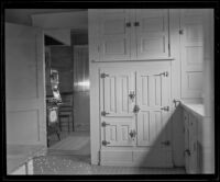 Room in the home of murder victim Jacob Denton, Los Angeles, 1920-1921