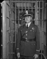 Captain Clem Peoples, Los Angeles County Jailer, Los Angeles, 1920-1939