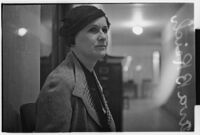 Ava B. Reich during the trial of David and Serge Mdivani, Los Angeles, 1934
