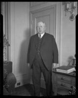 George M. Reynolds, Chicago banker, circa 1927-1933