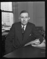 J. R. Ridgeway, President of Investors Syndicate, 1935