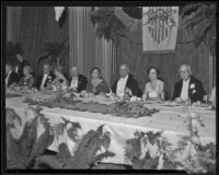 Banquet for Olympic Committee at the Metro-Goldwyn-Mayer studios, Los Angeles, 1932