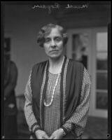 Maude Royden during her first west coast visit, Pasadena, 1928