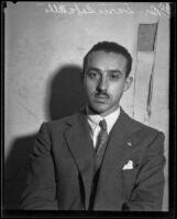 Dario Sabatello comes to Los Angeles to tour the United States, 1933