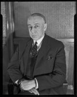H. A. Scandrett, railway executive, 1928