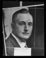 Paul R. smith, president of the Santa Monica-Ocean Park Chamber of Commerce, 1935