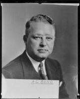A. C. Bond, sales director of the Owl Drug Company, 1935