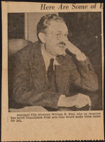 William H. Neal, assistant city attorney, Los Angeles, 1935