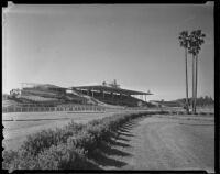 Clubhouse and Grandstand at Santa Anita Park, Arcadia, 1936