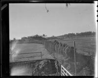 Santa Anita Park seen from north of the main track, Arcadia, 1936
