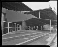Clubhouse at Santa Anita Park, Arcadia, 1936