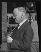 Harry Carr, Los Angeles Times reporter, editor and columnist, Los Angeles, copy print 1936