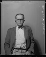Ralph Trueblood, Los Angeles Times managing editor, Los Angeles, 1935