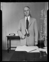 Scott M. Loftin, past president of the American Bar Association, Los Angeles, 1935