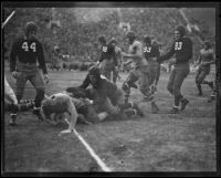 UCLA vs. University of Florida football game, Memorial Coliseum, Los Angeles, 1931