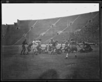 UCLA vs. Florida football game, Memorial Coliseum, Los Angeles, 1931