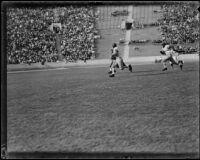 Football Game between the UC Berkeley Golden Bears and USC Trojans at the Coliseum, Los Angeles, 1934