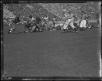 Football Game between the UC Berkeley Golden Bears and USC Trojans at the Coliseum, Los Angeles, 193