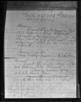 """Draft of a contract for a girl's wrist watch prize to be awarded at the """"Rodeo and Wild West Show"""" held during Upton Sinclair's run for governor, 1934"""
